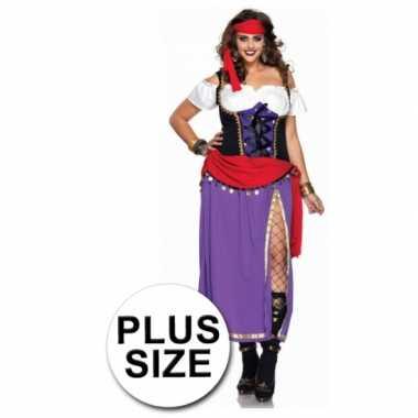 2delig gypsy kostuum voor dames
