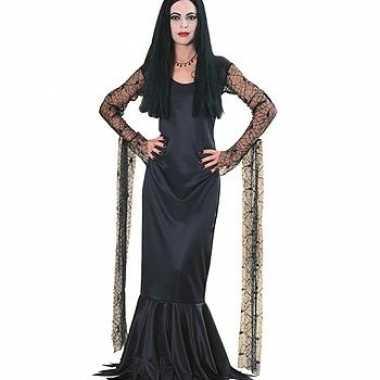 Addams family morticia jurk