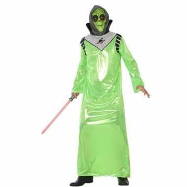 Alien verkleed kostuum voor volwassenen