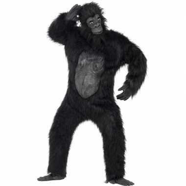 Apen kostuumken volwassenen gorilla