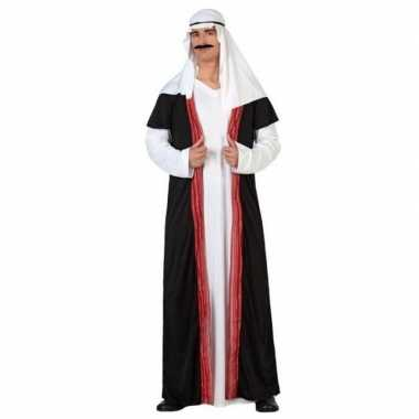 Arabische sjeik 1001 nacht verkleed kostuum/gewaad voor heren
