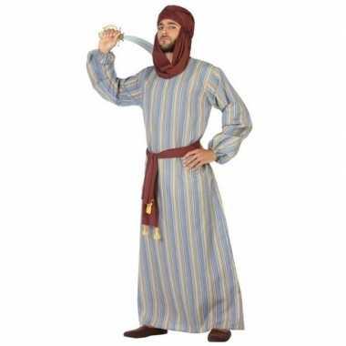 Arabische strijder ali verkleed kostuum/gewaad voor heren