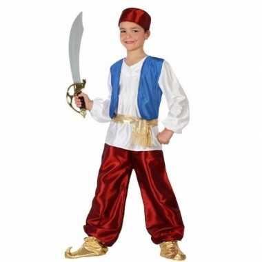 Arabische strijder badir kostuum voor jongens