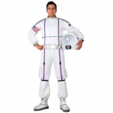 Astronauten verkleed kostuum/kostuum voor heren