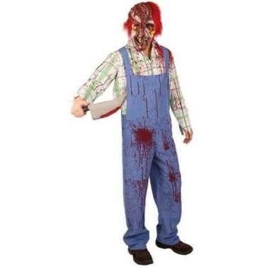 Bebloed zombie kostuum