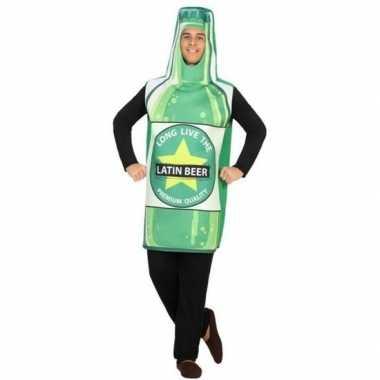 Bierfles fun verkleed kostuum voor volwassenen