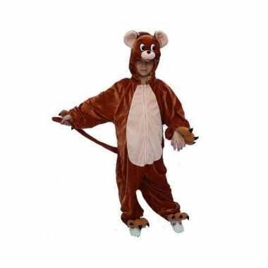 Bruin kinder muizen kostuum