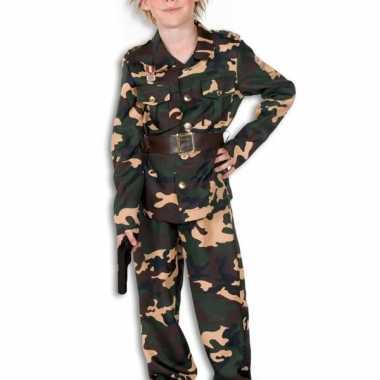 Camouflage kostuum voor jongens en meiden