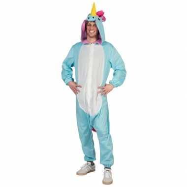 Canaval onesie blauwe eenhoorn heren