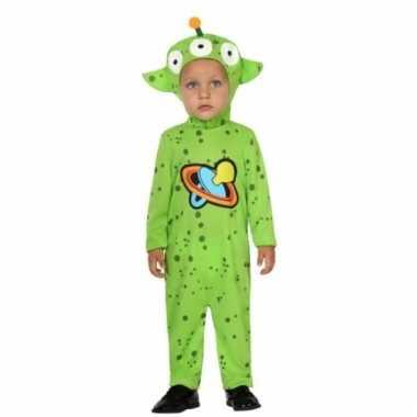 Carnaval aliens kostuum peuters