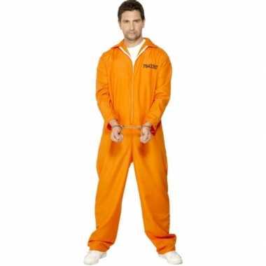 Carnaval boevenkostuum oranje