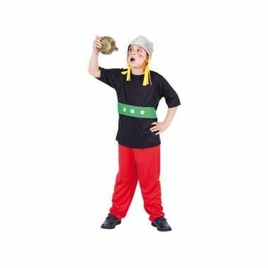 Carnaval gallier kostuum voor kinderen 3 delig