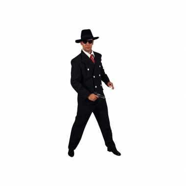 Carnaval maffia kostuum heren