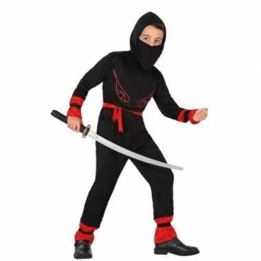 Carnaval ninja kostuum jongens