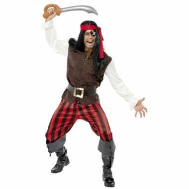 Carnaval piraat kosuum heren