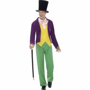 Carnavalkostuum willy wonka kostuum