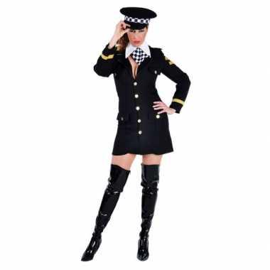 Carnavals kostuum politie agente jurkje