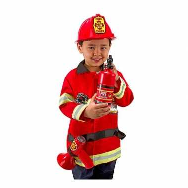 Carnavalskostuum brandweer voor kids