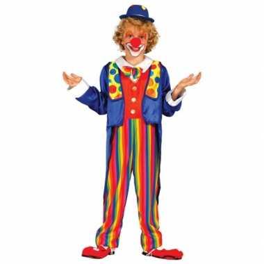 Carnavalskostuum clown kostuum voor kinderen