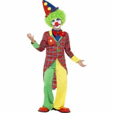 Carnavalskostuum clown kostuum