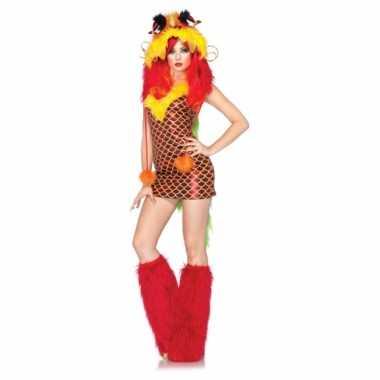 Carnavalskostuum draak voor vrouwen