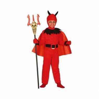 Carnavalskostuum duivel voor kinderen