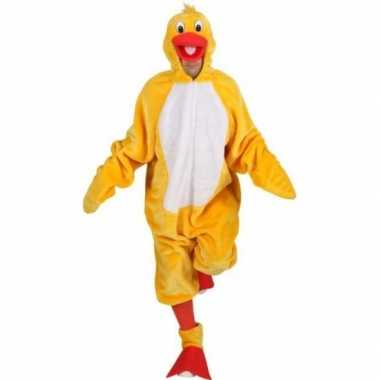 Carnavalskostuum gele vogels kostuum