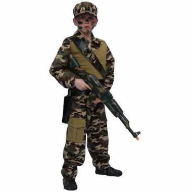 Carnavalskostuum leger kostuum kind