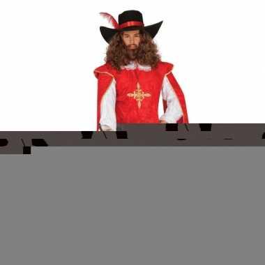 Carnavalskostuum musketier