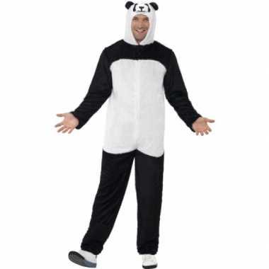 Carnavalskostuum panda kostuum