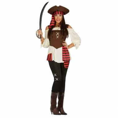 Carnavalskostuum piraat dame
