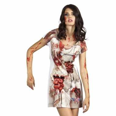 Carnavalskostuum zombiebruid