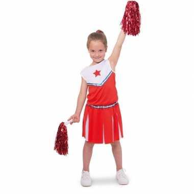 Cheerleader kostuumje verkleed kostuum voor meisjes