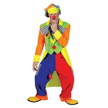 Clown verkleed kostuum voor mannen