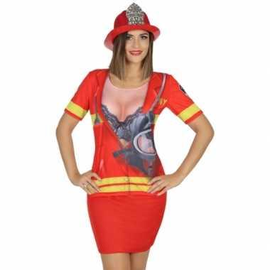 Compleet brandweer kostuum voor dames
