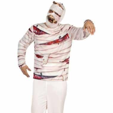Compleet mummie kostuum voor heren