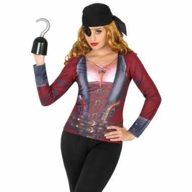Compleet piraat kostuum voor dames