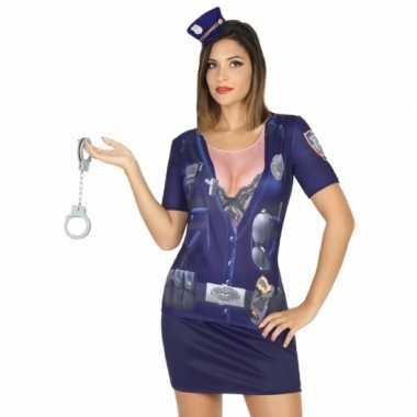 Compleet politie kostuum voor dames