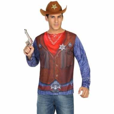Compleet sheriff kostuum voor heren