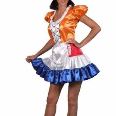 Dames hollands meisje jurk