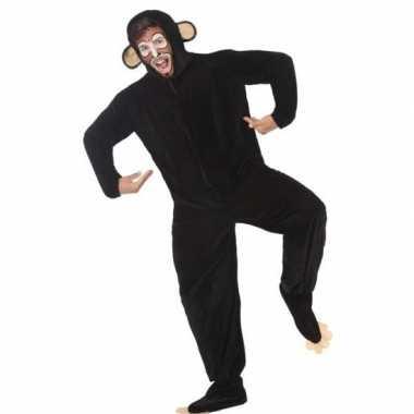 Dierenkostuum apen/chimpansee verkleedkostuum voor volwassenen