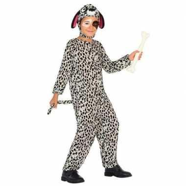 Dierenkostuum hond/honden verkleed kostuum dalmatier voor kinderen
