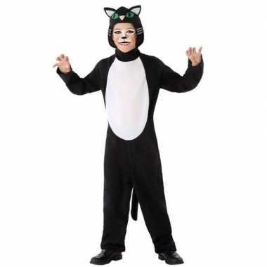 Dierenkostuum kat/poes verkleed kostuum voor kinderen