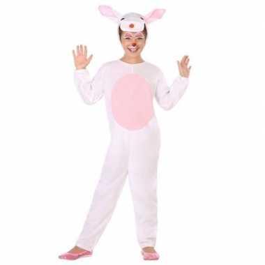 Dierenkostuum konijn/haas verkleed kostuum voor kinderen