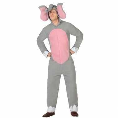 Dierenkostuum olifant verkleed kostuum voor volwassenen