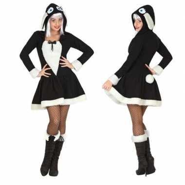 Dierenkostuum schaap verkleed jurkje voor dames