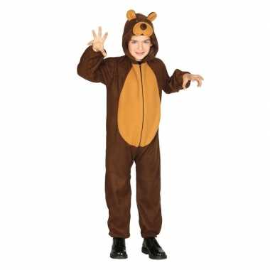 Dierenkostuum verkleed kostuum beer voor kinderen