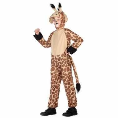 Dierenkostuum verkleed kostuum giraffe voor kinderen