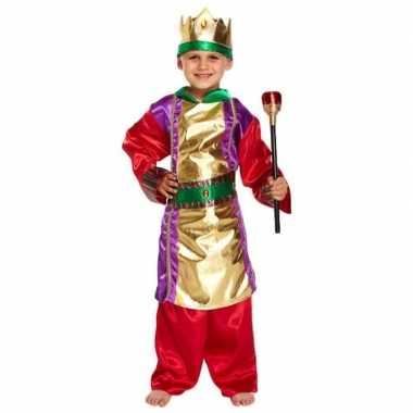 Drie koningen kerst kostuum kostuum voor jongens