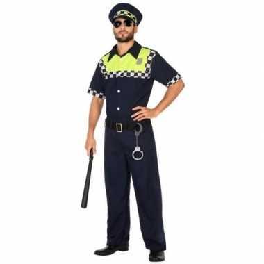 Engelse politie verkleed kostuum/kostuum voor volwassenen